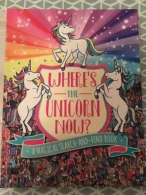 Where's The Unicorn Now? Magical Search & Find Book