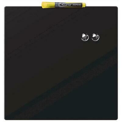 Magnetic Dry Erase Board - Quartet (360x360mm) Square Tile (Black)