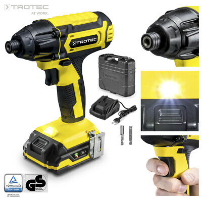 TROTEC Cordless Impact Wrench PIDS 10-20V | Screwdriver | Battery | 180 Nm | 20V