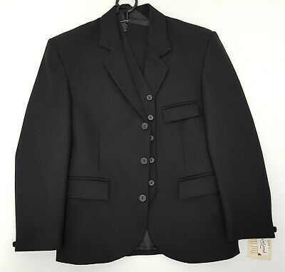 Ex Hire Black Day Kilt Jacket & Vest Bone Button  £79 Limited Sizes A1 condition