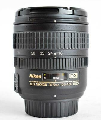 Nikon AF-S DX 18-70mm Lens f/3.5-4.5G IF ED EXCELLENT