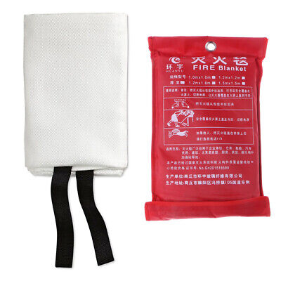 Solid Large Fire Blanket Fiber Flame Retardant Welding Cover Protective Fabric