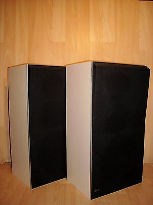 B&O Bang & Olufsen Beovox S45-2 * 3-Way Speakers Type 6312 * White Cabinet *