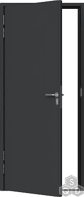 Fire Rated Steel Metal Security Door Doorset