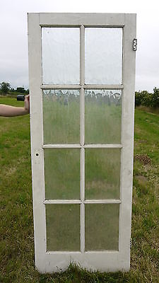 GL26b (30 x 78) Wooden Painted Modern Glazed Door