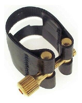 ROVNER LIGATURE LIGHT w CAP FOR ALTO SAX HARD RUBBER MOUTHPIECE - L6
