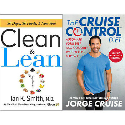 The Cruise Control Diet and Clean & Lean: 30 Days, 30 Foods, a New You! (eBøøks)