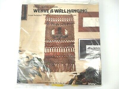 Weaving Kit Weave A Wall Hanging Cardboard Loom Orange Yellow