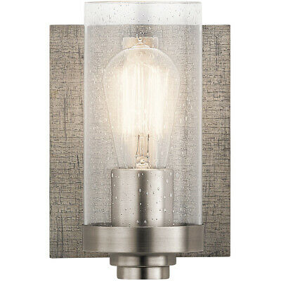 Kichler Lighting 45926CLP Dalwood Wall Sconce Classic Pewter