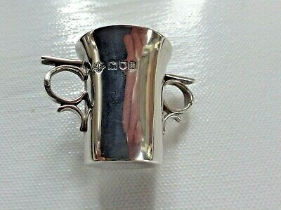 Antique Sterling Silver Spirit Cup by London Mkr Goldsmiths & Silversmiths 1905