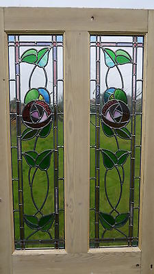stained glass panels made to order, 1930's, victorian, edwardian, in your design