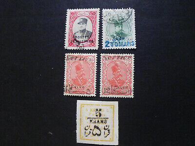 Persia/Persien/Perse/Persian/Middle East, Lot 6  Mint and used 2 Scans!!!