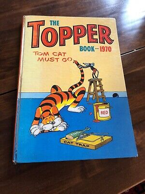 The Topper 1970 Annual Book Vintage Comic Not Clipped