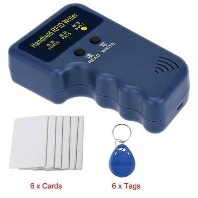 ID Card Duplicator With 6 Writable Tags And Cards Clone Copy Machine          TR