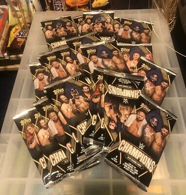 topps wwe wresting packets x30 unopened