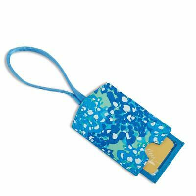 NWT Vera Bradley Luggage Tag/Gift Card Holder * Blooms Blue