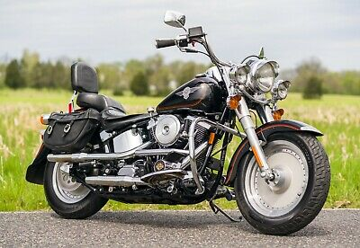 1992 Harley-Davidson Softail  1992 Harley Davidson Softail Fatboy Fat Boy FLSTF All Original Terminator 2 Bike