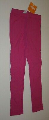 New Gymboree Girls Leggings 10 12  year Solid Pink Pants Stretch Easy Pull On
