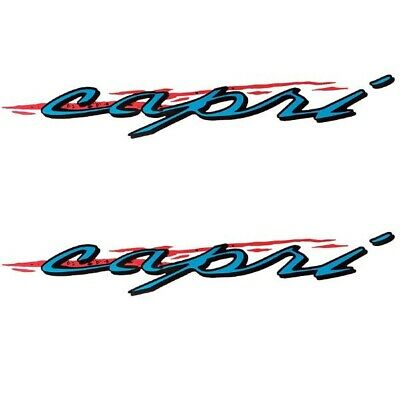 decal Pair BAYLINER 120 HP BOAT DECALS