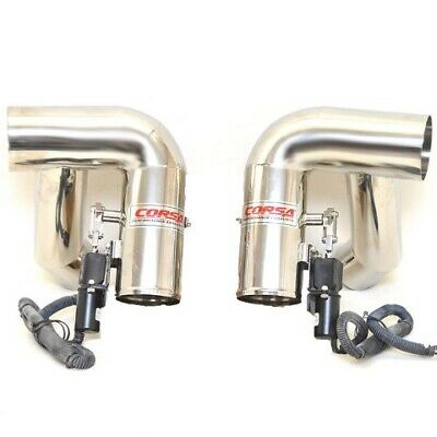 Corsa Boat Exhaust Diverter P62367-500 | Crownline 245 Stainless (Set)