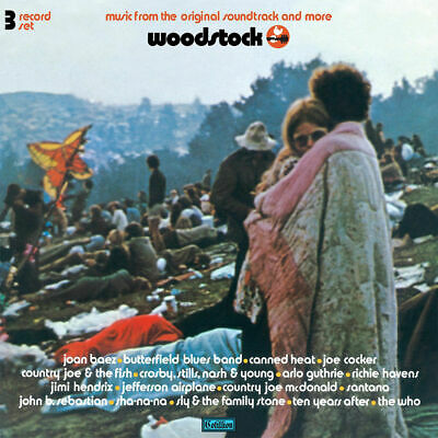 Woodstock MUSIC FROM THE SOUNDTRACK Various LIMITED RSD 2019 New Vinyl 3 LP