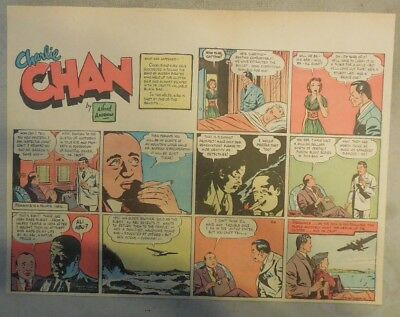 Charlie Chan by Alfred Andriola from 8/6/1939 Half Page Size!