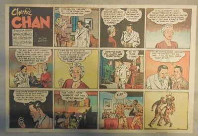 Charlie Chan by Alfred Andriola from 1/22/1939 Half Page Size!