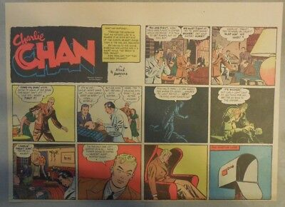 Charlie Chan by Alfred Andriola from 9/10/1939 Half Page Size!