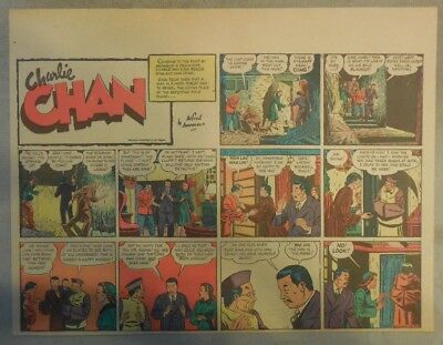 Charlie Chan by Alfred Andriola from 11/12/1939 Half Page Size!
