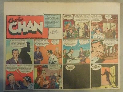 Charlie Chan by Alfred Andriola from 9/24/1939 Half Page Size!