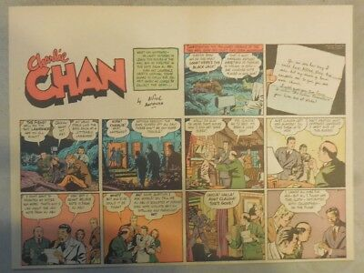 Charlie Chan by Alfred Andriola from 8/27/1939 Half Page Size!