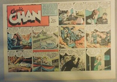 Charlie Chan by Alfred Andriola from 5/26/1940 Half Page Size!
