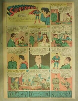 Superman Sunday Page #279 by Siegel & Shuster from 3/3/1945 Tab Page