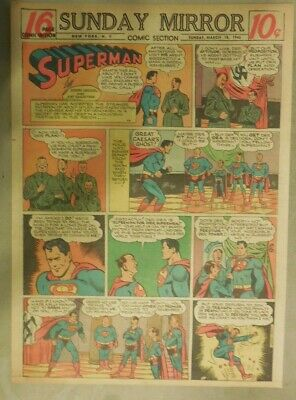 Superman Sunday Page #281 by Siegel & Shuster from 3/18/1945 Tab Page