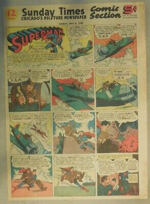 Superman Sunday Page #288 by Siegel & Shuster from 5/6/1945 Tab Page