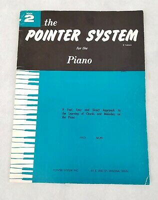 Book 2 The Pointer System For The Piano 1959 Made In USA Music Sheet