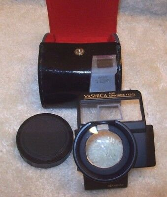 Kyocera Yashica Tele Converter YT2 - TL With Original Case - Made in Japan