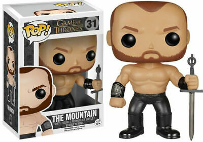 Flawed Box Funko Pop! Game of Thrones The Mountain #31 Vinyl Figure