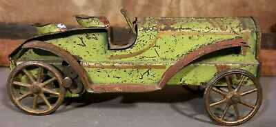 1920's Antique DAYTON Pressed Steel TOURING CAR Old HILL CLIMBER Childrens TOY