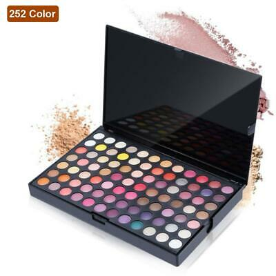 252 Colors Eye Shadow Palette Makeup Cosmetic Shimmer Matte Eyeshadow Gift JL
