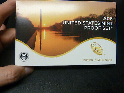 2016 US Mint Proof Set United states With Quarters in Box