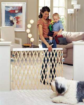 Expandable Swing Gate in Natural Finish [ID 71201]