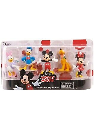 Mickey Mouse Clubhouse Disney Figure Set Classics Deluxe Brand New Sealed !!