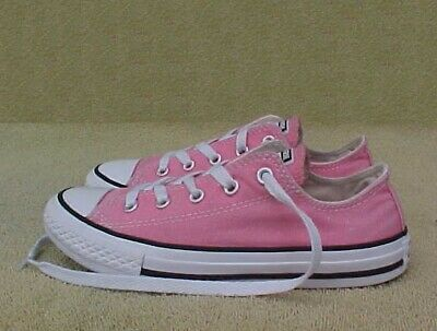 ffcff23b399f Youth Girls Sz 1.5 CONVERSE All Star Chuck Taylor Low PINK SNEAKERS SHOES 1  1