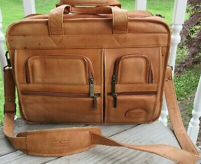 966577a4b6e8 CLAIRE CHASE EXECUTIVE Leather Computer Briefcase - $150.00 | PicClick
