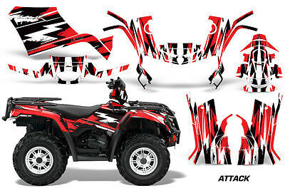 """CAN-AM COMMANDER TAILGATE GRAPHICS KIT /""""THE OUTLAW/"""" FOR YELLOW BODY PANELS"""