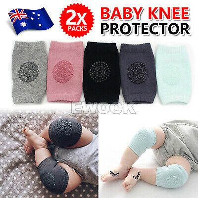 Unisex Baby Crawling Cushion Knee Pads Safety Infant Toddler Anti-slip Protector