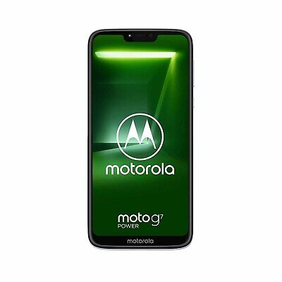 "Motorola Moto G7 Power Iced Violet 6.2"" 64GB 4G Unlocked & SIM Free PAE90019GB"
