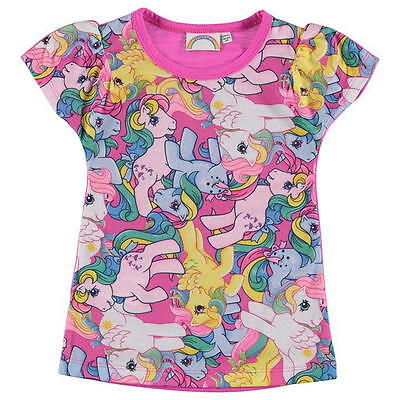 NEW WITH TAGS MY LITTLE PONY:ADORABLE T SHIRT 3//4,4//5,5//6,7//8,9//10YR