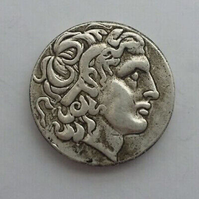 Silver Plated Rare Ancient Alexander III The Great Greek Coin 336-323 BC NO.10